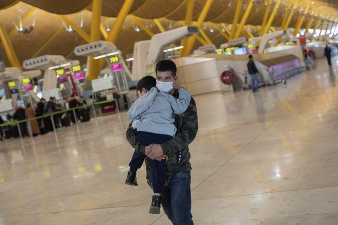 Από το αεροδρόμιο Μπαράχας