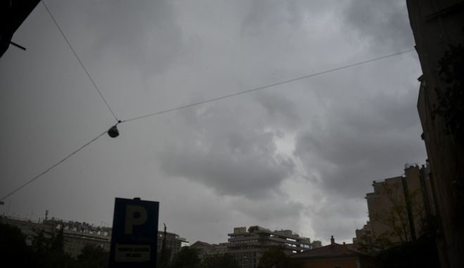 Καταιγίδα στην Αθήνα. Φωτο αρχείου.