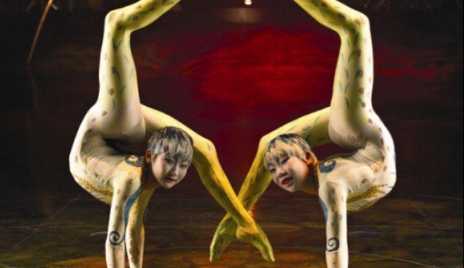 To Cirque du Soleil για πρώτη φορά στην Ελλάδα