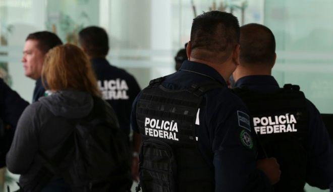 Αστυνομία στο Μεξικό.