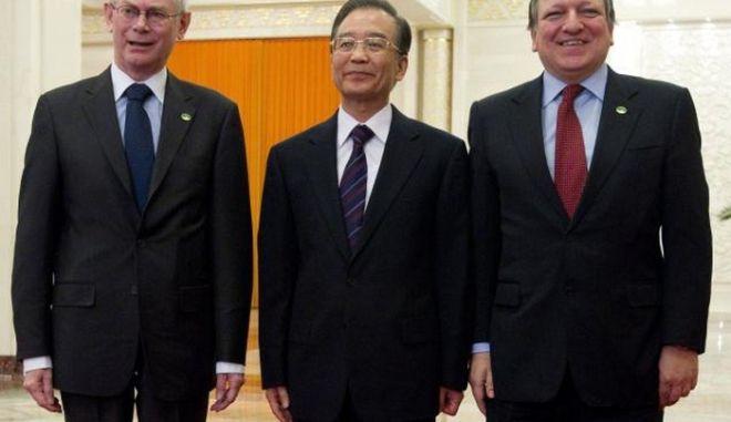 Κίνα: Έτοιμη να συνδράμει οικονομικά την Ευρώπη
