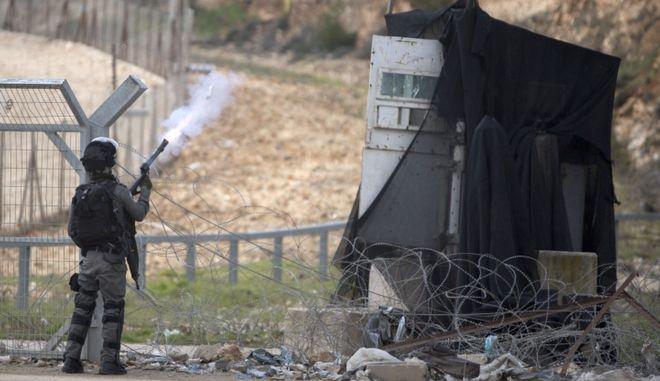 Ισραηλινοί φρουροί ασφαλείας - Φωτογραφία αρχείου