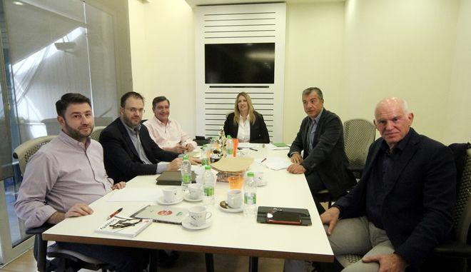 ΑΘΗΝΑ - Συνεδριάζει το Πολιτικό Συμβούλιο του «Κινήματος Αλλαγής». (Eurokinissi-ΔΗΜΗΤΡΟΠΟΥΛΟΣ ΣΩΤΗΡΗΣ)