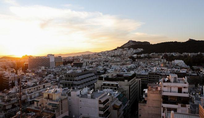 Αστικό τοπίο της Αθήνας
