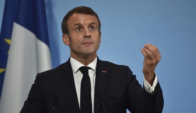 Ο Γάλλος πρόεδρος Εμανουέλ Μακρόν