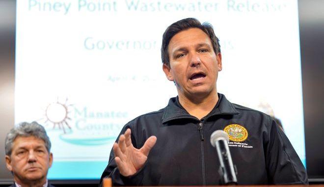Ο κυβερνήτης της Φλόριντα Ron DeSantis.