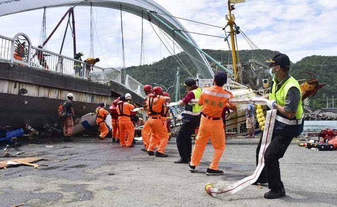 Γέφυρα κατέρρευσε, Ταϊβάν