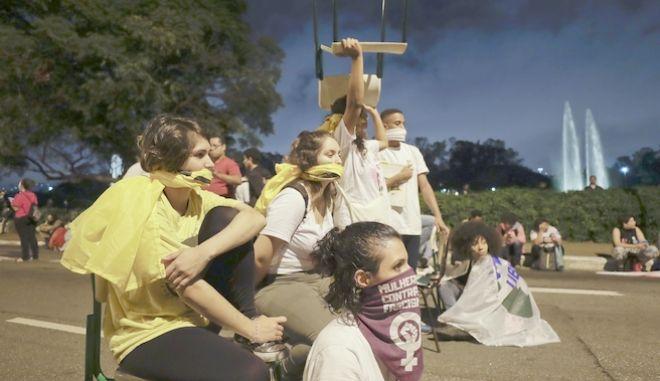 Διαδηλωτές φοιτητές στη Βραζιλία