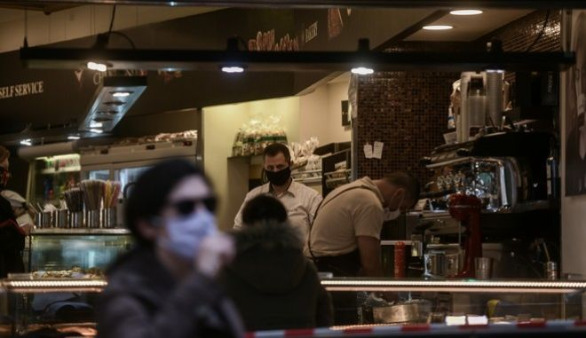 Take away κατάστημα καφέ στην Αθήνα