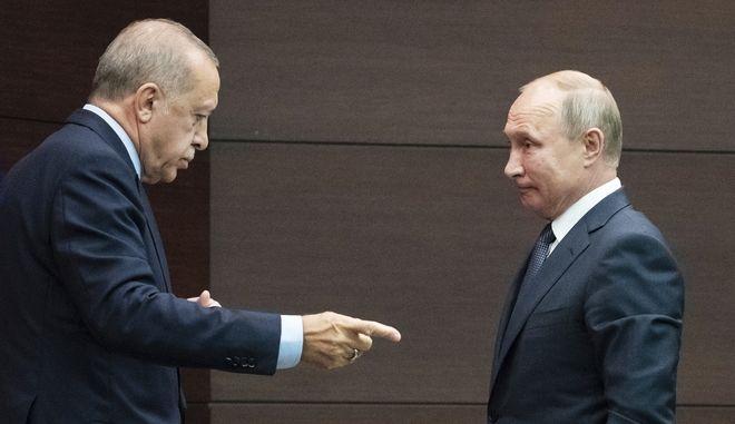 Βλαντίμιρ Πούτιν και Ταγίπ Ερντογάν