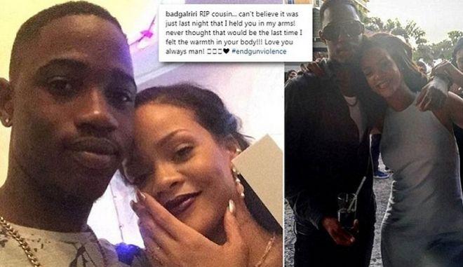 Σοκαρισμένη η Rihanna: Δολοφόνησαν εν ψυχρώ τον 21χρονο ξάδερφό της