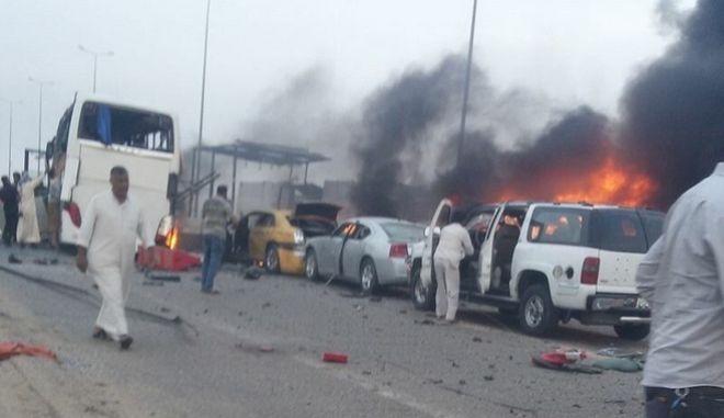 Ιράκ: Νεκροί και τραυματίες από εκρήξεις παγιδευμένων αυτοκινήτων