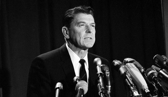Ρόναλντ Ρήγκαν, ο 40ος πρόεδρος των ΗΠΑ