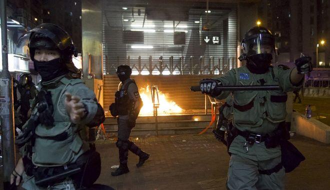 Αστυνομία στο Χονγκ Κονγκ