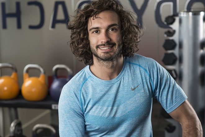 Joe Wicks AKA The Body Coach pictured at his west London studio.  Picture by Daniel Hambury/Stella Pictures Ltd +44 7813 022858 26/05/2016