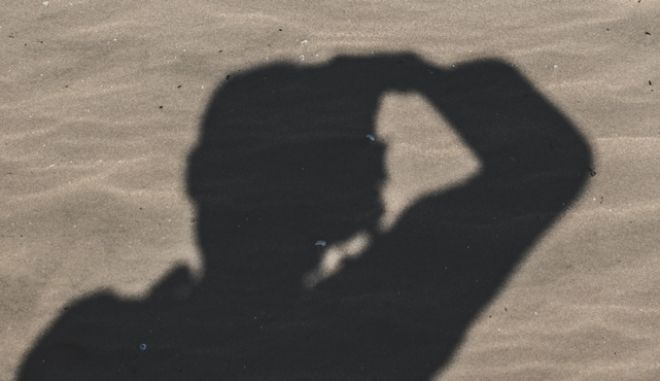 Σιλουέτα φωτογράφου - φωτογραφία αρχείου