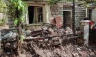 Καταστροφές από την κακοκαιρία στην Αργιθέα Καρδίτσας.