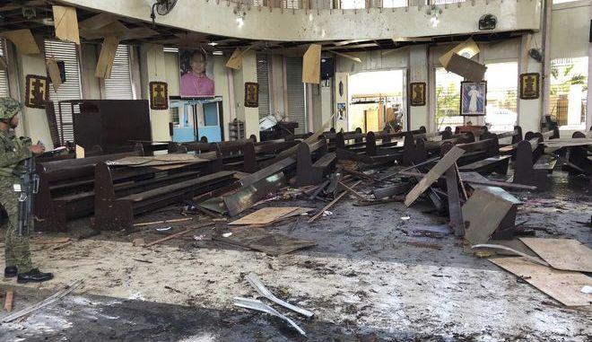 Βομβιστική επίθεση στις Φιλιππίνες