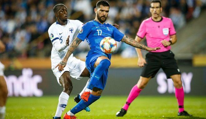 ΠΡΟΚΡΙΜΑΤΙΚΑ EURO 2020 / ΦΙΝΛΑΝΔΙΑ - ΕΛΛΑΔΑ