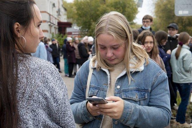 Φοιτήτρια του Πανεπιστημίου Περμ στη Ρωσία