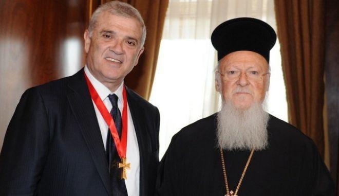 Άρχων του Οικουμενικού Πατριαρχείο ο Δημήτρης Μελισσανίδης