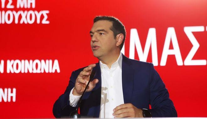 Με ομιλία - πλατφόρμα Τσίπρα το τριήμερο Φεστιβάλ της Νεολαίας ΣΥΡΙΖΑ