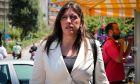 Η Ζωή Κωνσταντοπούλου καταθεσε μήνυση για τις φονικές πυρκαγιές κατά παντός υπευθύνου για τις φονικές πυρκαγιές στην ανατολική Αττική, στον Εισαγγελέα Πρωτοδικών Αθηνών. Δευτέρα 6/8/2018. (Eurokinissi/ΒΑΣΙΛΗΣ ΡΕΜΠΑΠΗΣ)