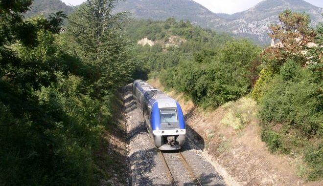 Τρένο στη Γαλλία