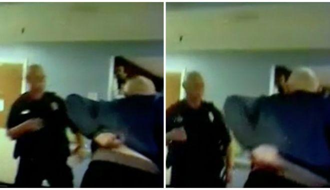 Αστυνομικός χτύπησε με taser 91χρονο επειδή δεν ήθελε να πάει στον γιατρό