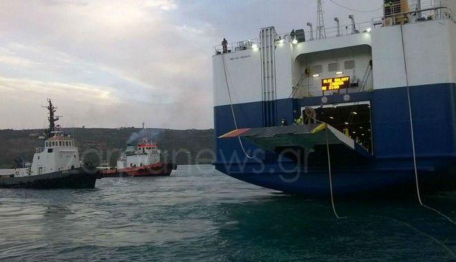 Κακοκαιρία στην Κρήτη: Ακυρώθηκαν πτήσεις - Πλοίο 'έδεσε' με ρυμουλκά