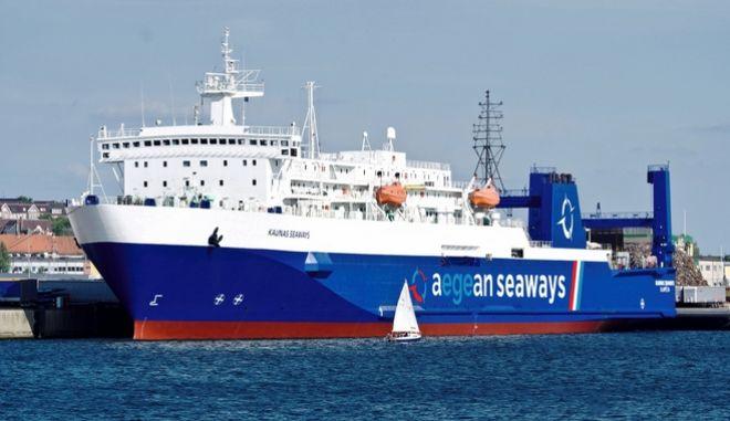 Aegean Seaways: Ξεκινά τον Ιούνιο η ακτοπλοϊκή σύνδεση Λαύριο - Τσεσμέ