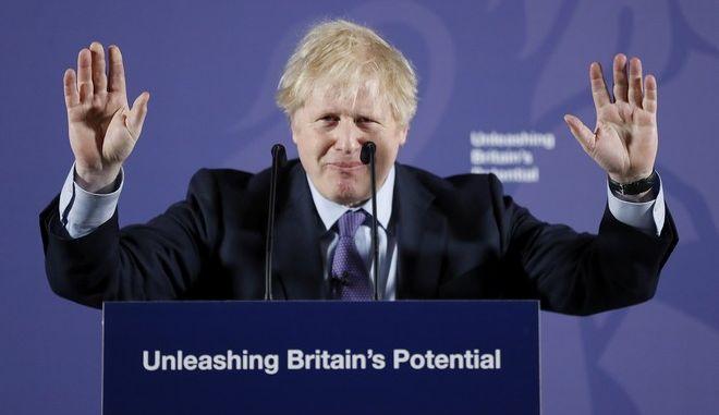 Ο Βρετανός πρωθυπουργός Μπόρις Τζόνσον περιγράφει τη διαπραγματευτική στάση της κυβέρνησής του με την Ευρωπαϊκή Ένωση μετά από το Brexit