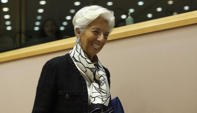 Η πρόεδρος της ΕΚΤ, Κριστίν Λαγκάρντ
