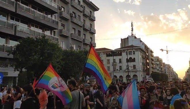 Στιγμιότυπο από το 5ο Αυτοοργανωμένο Thessaloniki Pride
