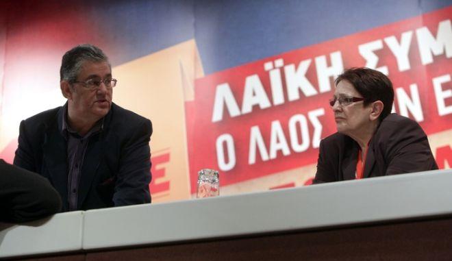 Νέος γενικός γραμματέας του ΚΚΕ στη θέση της Α. Παπαρήγα, ο Δημήτρης Κουτσούμπας
