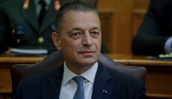 Ο Υφυπουργός Εθνικής Άμυνας, κ. Αλκιβιάδης Στεφανή