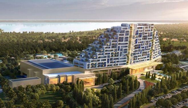 Αυτό είναι το εντυπωσιακό καζίνο - θέρετρο που ετοιμάζεται στην Κύπρο