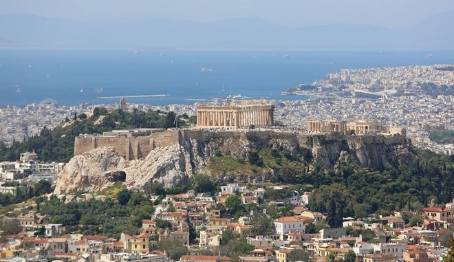 Η Ακρόπολη στην Αθήνα