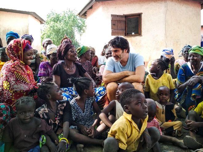Ο Χριστόφορος Παπακαλιάτης στη Γκάνα