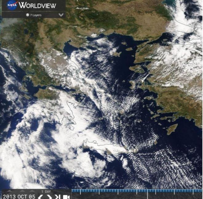 Καιρός: Σχεδόν αίθριος με ανέμους βόρειους έως 6-7 μποφόρ στο Αιγαίο