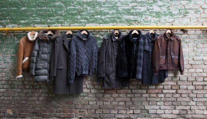 Κρεμασμένα μπουφάν