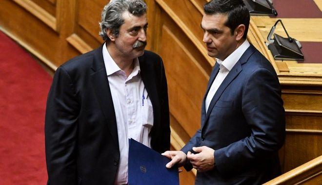 Τσίπρας και Πολάκης