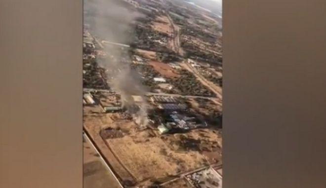 Τουλάχιστον 19 τραυματίες από συντριβή αεροσκάφους