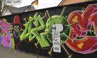 Γκραφίτι για τον κορονοϊό στην πόλη Χαμ της Γερμανίας