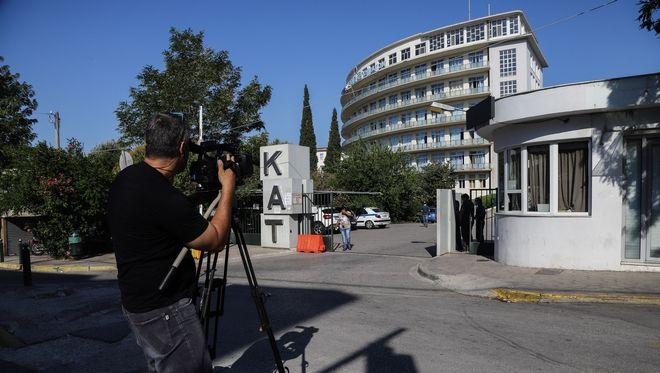 Το νοσοκομείο ΚΑΤ όπου νοσηλεύεται ο δημοσιογράφος Στέφανος Χίος έπειτα από τους πυροβολισμούς που δέχθηκε τα ξημερώματα της Δευτέρας 27 Ιουλίου 2020, έξω από το σπίτι του στα Βριλήσσια