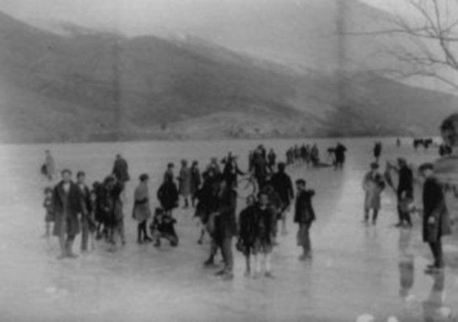 Το ιστορικό πάγωμα της λίμνης Παμβώτιδας και η Παναγία Ντουραχάνη