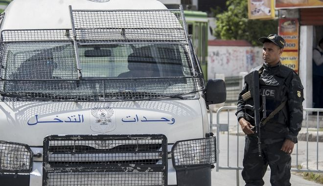 Αστυνομία στην Τύνιδα (αρχείου)