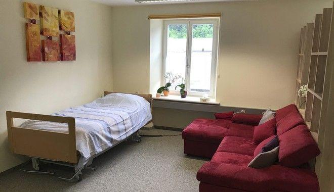 Το δωμάτιο στο οποίο πέρασε τις τελευταίες στιγμές της ζωής του