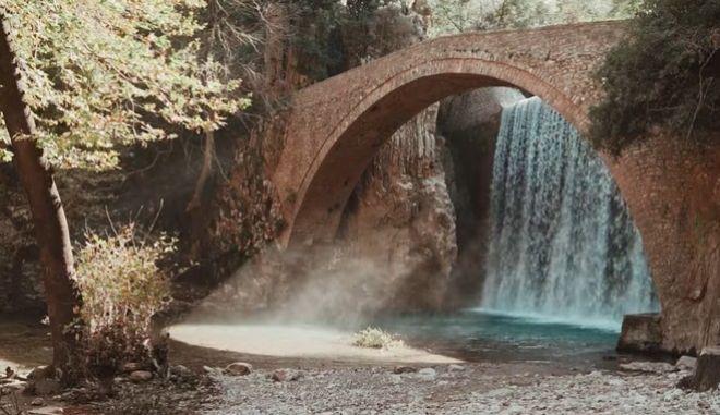 Τρίκαλα Γεφύρι Παλαιοκαρυάς: Ο καταρράκτης που αναδύονται νεράιδες
