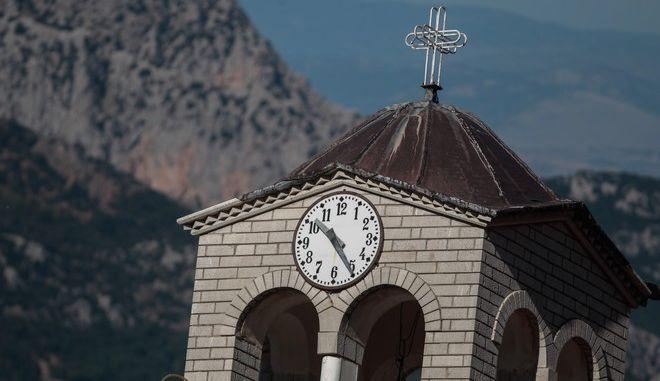 Εκκλησία σε χωριό των Τρικάλων
